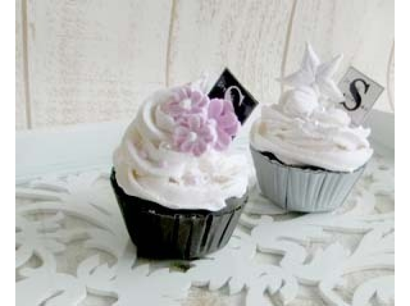 ソフトクレイ体験☆かわいいカップケーキ