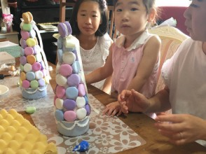 """[Tokyo is also in the """"macaroon tower"""" children make in-Fujimidai] soft clay adult care! 2 minute walk from Fujimidai Station!"""