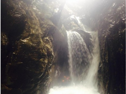 【富山・黒部川】黒部川上流キャニオニング(1日コース)ビギナー