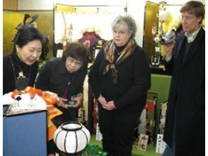 [Kyoto Kamigyo-ku] Yellow Ribbon Medal image of the award-master craftsman workshop tour of & handmade doll dressing experience