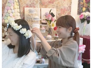 """[Tokyo Fujimidai] Anniversary and party with gorgeous corolla! """"Corolla flower arrangement"""" You can enjoy with your children!"""