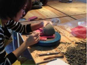 【福井・越前】粘土をこねて好きなものを自由につくろう![陶芸体験/手びねりコース]の画像