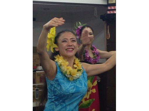 【奈良・奈良市】ハワイの風を感じながら楽しくフラダンス![初級クラス体験コース]