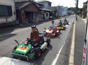 [Shimane · Matsue] OK if there is a driver's license. Drive Matsue City with guided · rental cart! Image of