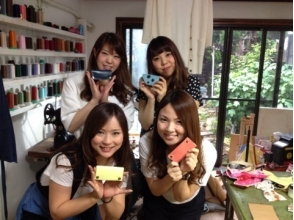 [Aichi Nagoya] leather craft experience! Let's make the original leather accessories! Image of