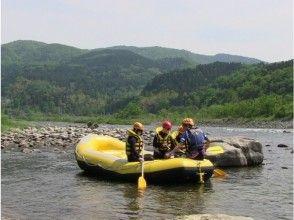 [Toyama Shogawa] Gokayama-Shogawa rafting (half day course)