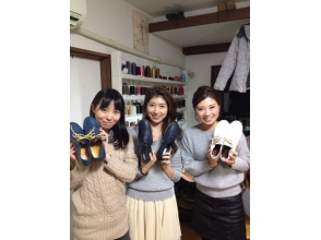 [Aichi Nagoya] leather craft experience! Let's wear made only of leather shoes yourself! Image of