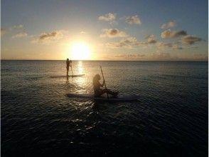 【沖縄・宮古島】初心者もOK。SUPしながら夕景を眺めよう![サンセットSUP]の画像