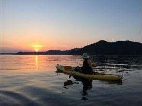 [Kansai ・ Hyogo Prefecture· Awaji Island]Sea kayak ・ Feel free to experience a canoe! Sunset course (75 minutes)