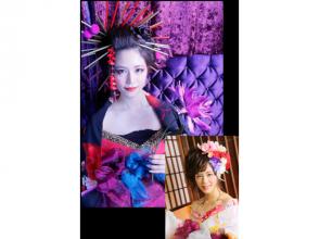 "[Shinjuku, Tokyo] authentic courtesan (Oiran) experience! With a makeover ""pine"" plan"
