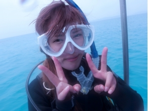 【Couple's most popular course! Half Day 10,000 yen】 Ishigaki Blue Experience Diving & Phantom Island Landing Shuno