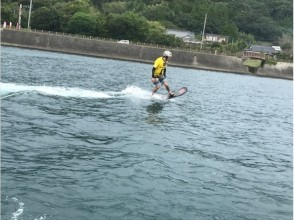 [鹿兒島池田湖]漂浮滑板經驗學校[初學者的歡迎!圖片]