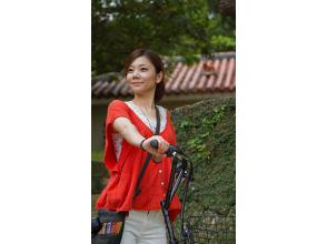 【沖縄・首里・レンタルサイクル】電動アシスト自転車ですいすい首里観光! 2時間コースの画像