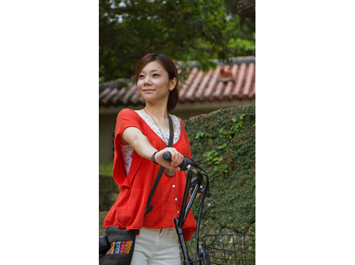 【沖縄・首里・レンタルサイクル】電動アシスト自転車ですいすい首里観光! 2時間コース