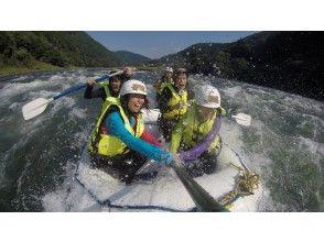 [Kumamoto Kuma River] Japan's three large torrent! Rafting experience (course morning)