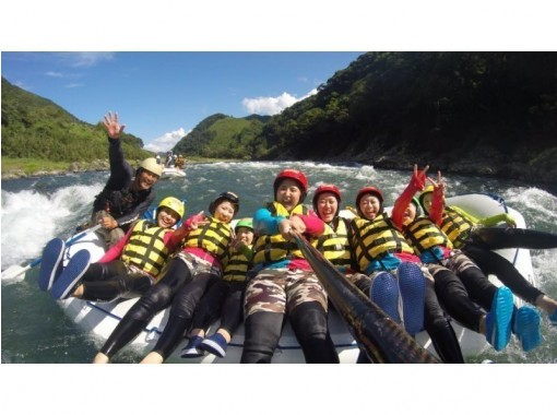 [Kumamoto Kuma River] Japan's three large torrent! Rafting experience (course afternoon)の紹介画像