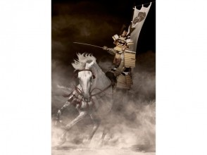 """【Tokyo · Shinjuku】 Become a samurai at photo studio! Image of """"bamboo plan"""" that you can experience riding scenes with armor"""