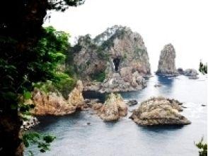 [岩手/ Tanohata]向导是有趣的向导!欣赏灯塔的壮丽景色!本图扎基灯塔徒步旅行(1小时)