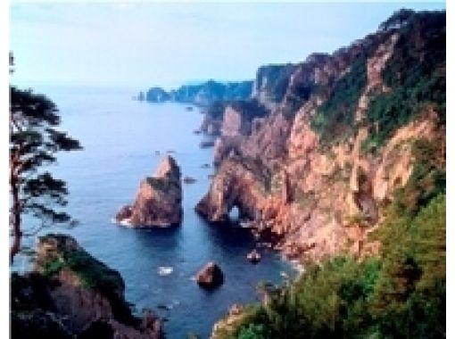【岩手・田野畑】ガイドが楽しくご案内!断崖絶壁を間近に!北山崎展望台ガイド(1時間)