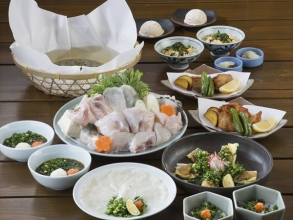 【Tokyo · Asakusa】 Trofuku seafood 7 items course [5162]