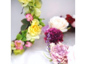 【広島・フラワーアレンジメント】季節を飾ろう!リース作り体験の画像