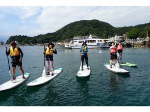 [Shizuoka / Numazu / Izu Nagaoka] The No. 1 guide supports the sea in Numazu. Stand on the board and sway the sea. Experience the hottest SUP now! (Beginner course, half day)