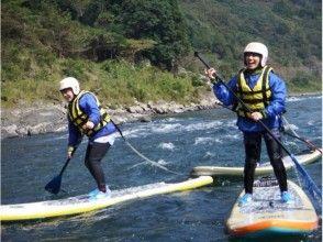 【熊本・球磨川】大注目!リバーサップ(River SUP)★半日体験ツアー【午後コース】の画像