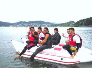 【長崎ハウステンボスの後に寄れる!】バナナボート・変形バナナボート【シャワー完備】