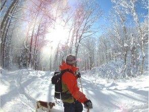【北海道・ニセコ】貸切スノーハイクツアー<ひとり旅に最適☆手ぶらで参加ソロプラン>写真データ付きの画像