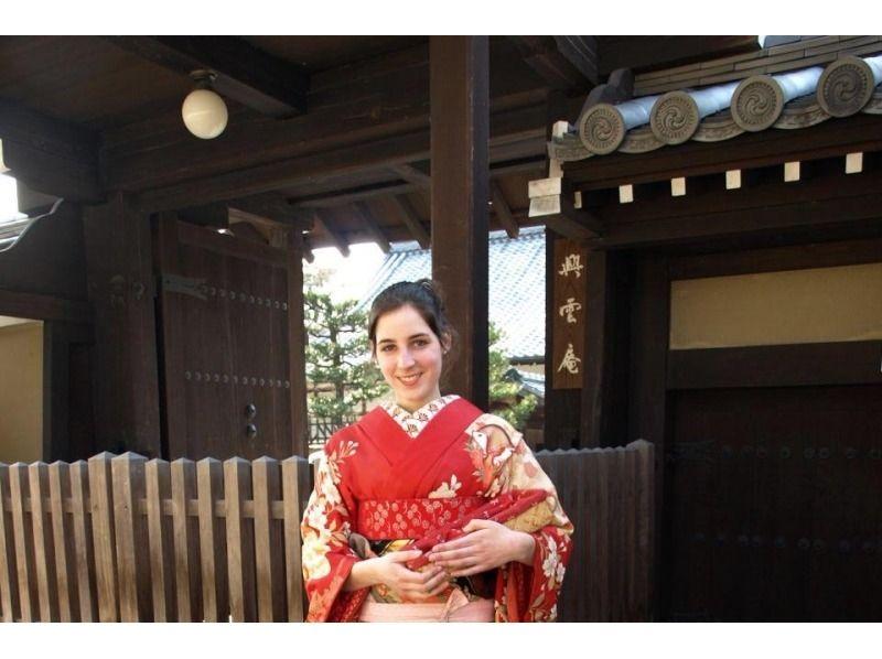 【京都・祇園四条駅から徒歩3分】衣裳だけ、舞妓さんの気分が味わえる〈舞妓着物プラン〉の紹介画像