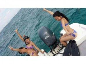 【沖縄】プレジャーボート遊び放題&フライボード体験