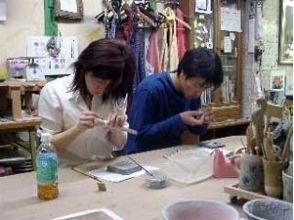 """[大阪/长居公园]成对参加一对银饰和陶器绘画体验""""长居游乐课程""""!"""