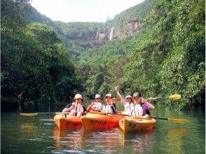 【沖縄・西表島】滝壺で泳げる!迫力満点ピナイサーラの滝 カヌー&トレッキング半日ショートツアー