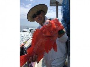 【静岡・大井川港】 御前崎沖で深海魚釣り!キンメダイ・アコウダイを釣り上げよう!