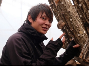 [Iwate, Otsuchi] organization customers welcome! Trying to harvest the delicious mushrooms of raw wood cultivation! Image of