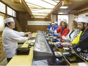 [Toyama Shinminato] ของแท้! ซูชิประสบการณ์พ่อครัวซูชิจับ 10 สอดคล้อง - สนามไม้ไผ่ของภาพ