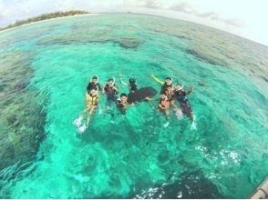 【沖縄・北部エリア/水納島】ボートシュノーケリング&クリアカヤック 1日コースの画像