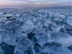 【北海道・十勝】メディアで話題!氷の宝石「ジュエリーアイス」体験ツアーの画像