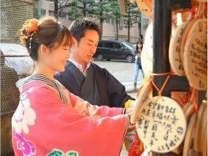 【Tokyo / Asakusa】Kimono Rental Plan for couples for an amazing reasonable price