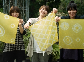 [Kagoshima prefecture Kagoshima] It Someyo in the material that created a natural ♪ plant dyeing experience! Image of