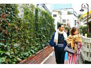 【東京・原宿】レンタル着物で原宿デートしませんか?カップルプラン(原宿駅から30秒)
