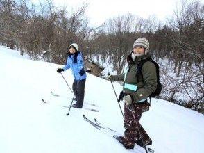 [東北享受八幡平及性質]★與1天越野滑雪旅遊形象的簽名午餐★