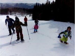 【長野・白馬村】雪と遊ぼう!山で遊ぼう!ガイド付き・スノーシュー体験プランの画像