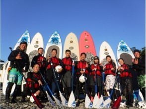 [Nagatoro River SUP] the skills up a notch! SUP experience target