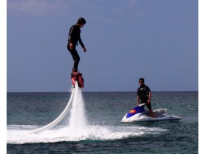 [Okinawa Ginowan aerial walk in the topic of ☆ fly board ☆