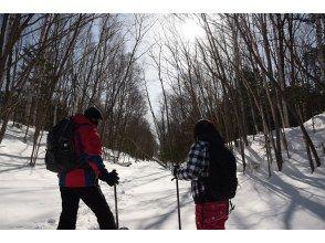 【北海道・十勝】スノーシュー峡谷トレッキングー帯広秘境の森をゆくー