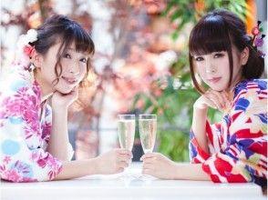 A 4-minute walk from [Kanagawa, kimono rental] Kamakura Station! Enjoy kimono Kamakura stroll × French Dinner set plan!