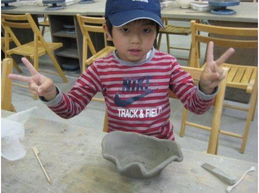 【群馬・草津】ファミリーで一緒に参加しよう!陶芸体験(幼児向けクラス・約45分)の紹介画像