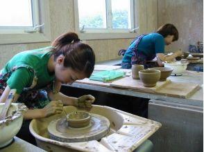 [可輕鬆前往群馬,草津溫泉★]享受計劃♪陶器經驗(電動轆轤)