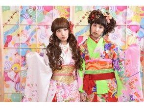 【東京・原宿】原宿可愛文化體驗♪變身可愛和服娃娃!(寫真原數據全部贈送)
